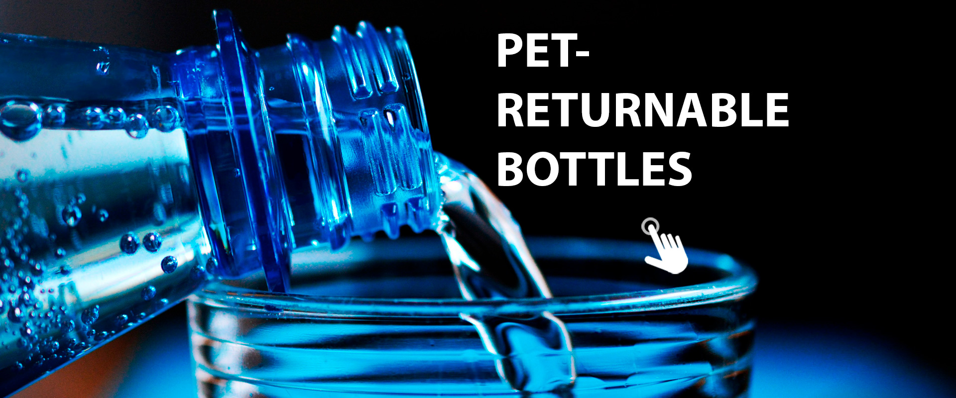 inspection of PET-returnable bottles